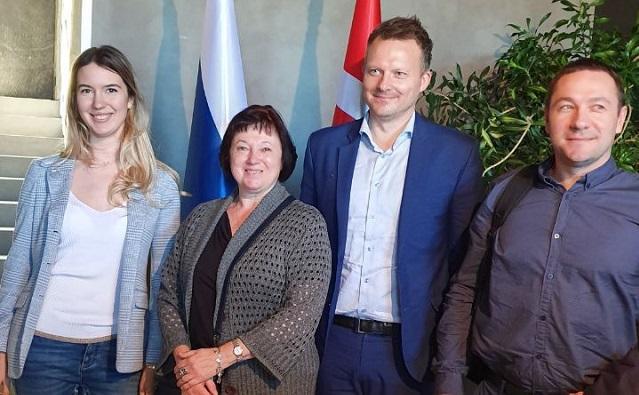Donnews — «На предприятии СЗАО «СКВО» побывала делегация из Дании»
