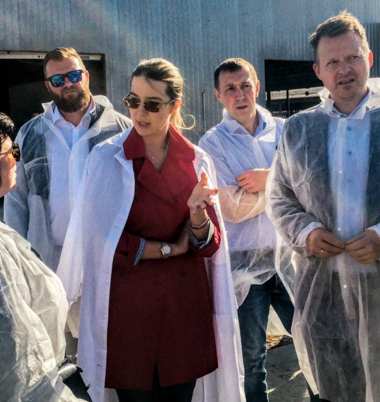 Вестник агропромышленного комплекса – СЗАО «СКВО» продемонстрировало свои достижения делегации из Дании».