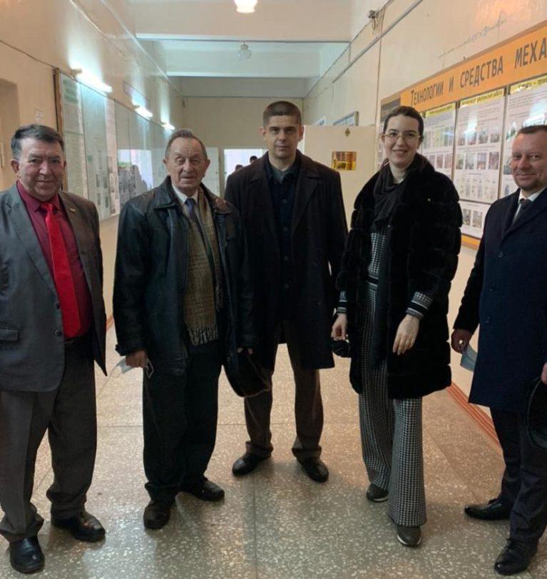 Анна Касьяненко и руководство АЧИИ ФГБОУ ВО Донкой ГАУ договорились о сотрудничестве вуза и СЗАО «СКВО»
