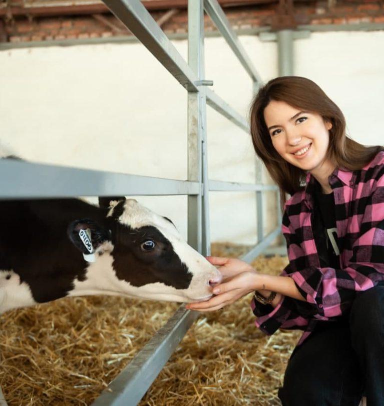 Анна Касьяненко в интервью «Российской газете»: в сельском хозяйстве должны работать только неравнодушные люди.